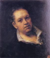 Goya - self-portrait