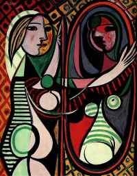 Woman in front of the mirror - Picasso